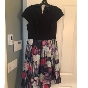 Ted Baker fit and flare dress